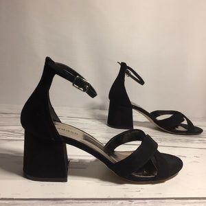 Steve Madden Girl chunky heeled choker sandals
